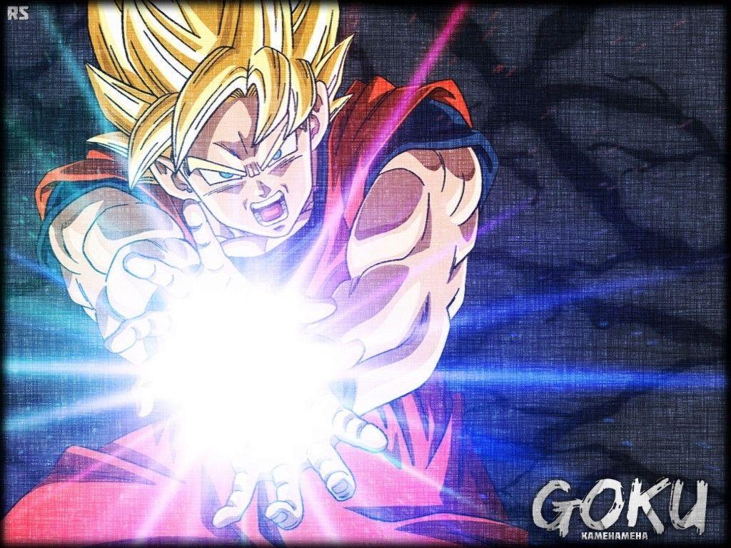 Goku Kamehameha Wallpapers 1024x768
