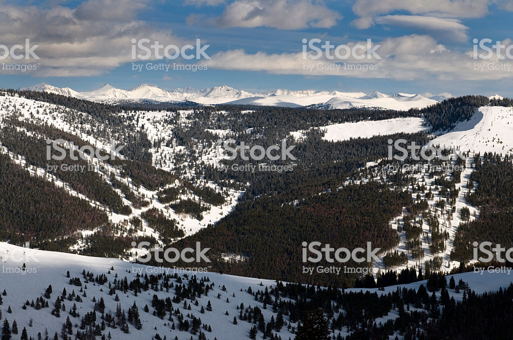 Vail Back Bowls With Gore Range In Background Stock Photo More 1024x680