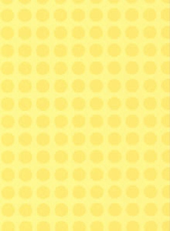 Yellow Dots Wall Paper   Kids Wall Decor Store 570x777