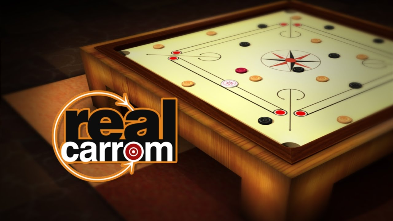 Real Carrom 3D Multiplayer Android Gameplay HD 1280x720