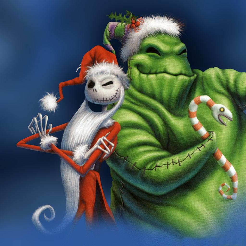 [72+] Nightmare Before Christmas Wallpaper Hd on ...