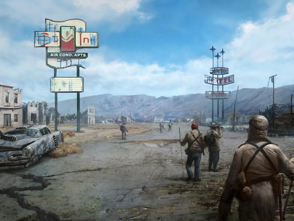 Fallout 4 4K HD Wallpaper 3623 1024x768