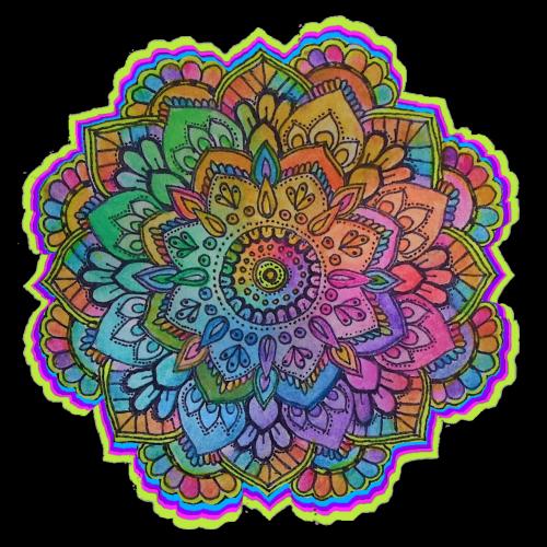 transparent mandala Tumblr 500x500