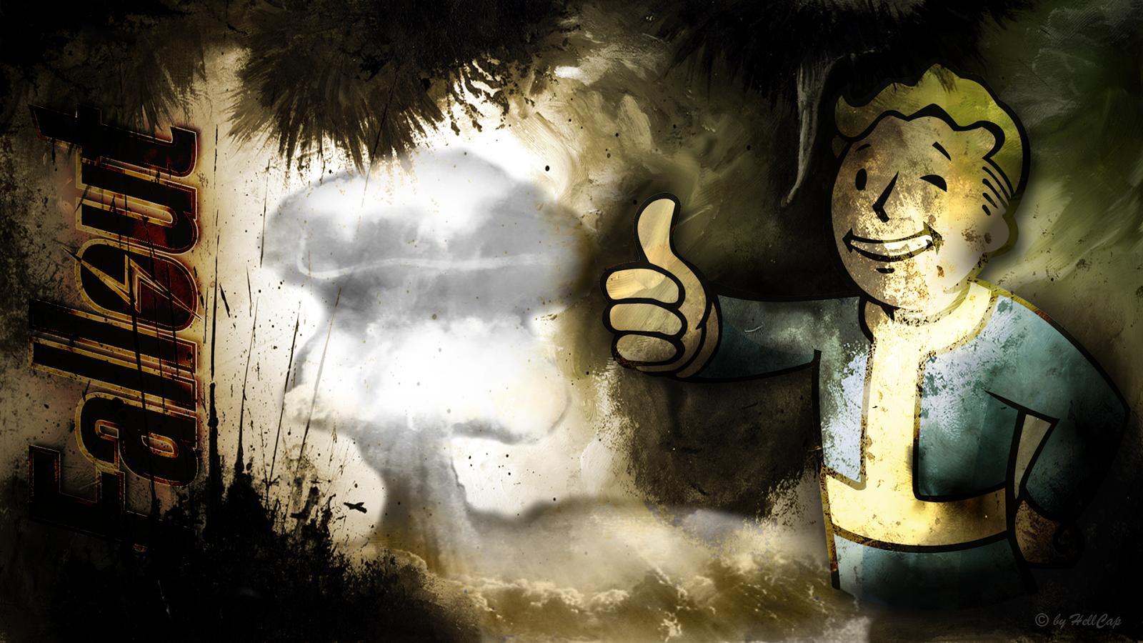 AllOut FallOut Fallout Vault Boy Wallpaper by Netbase 1920 x 1080 1600x900