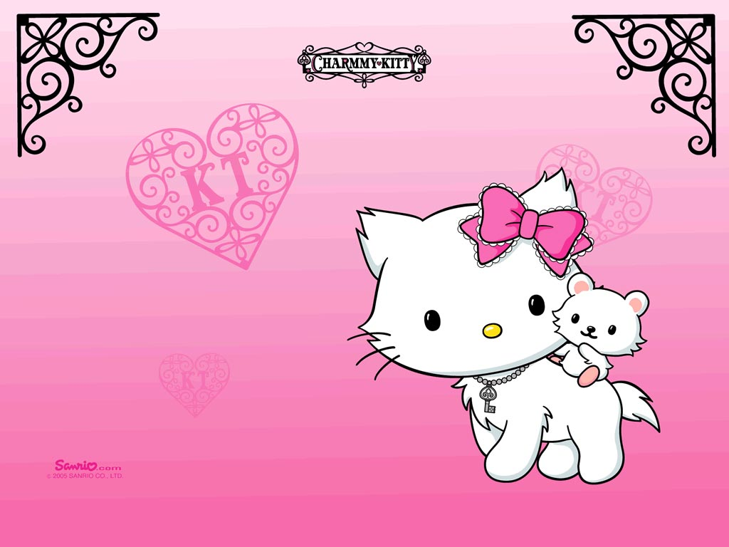 hello kitty wallpaper hello kitty hello kitty wallpaper pink 1024x768