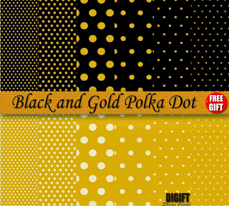 [48+] Gold Polka Dot Wallpaper On WallpaperSafari