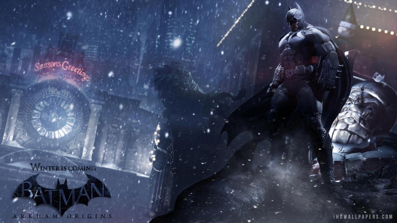 Batman Arkham Origins Wallpaper 1280x720