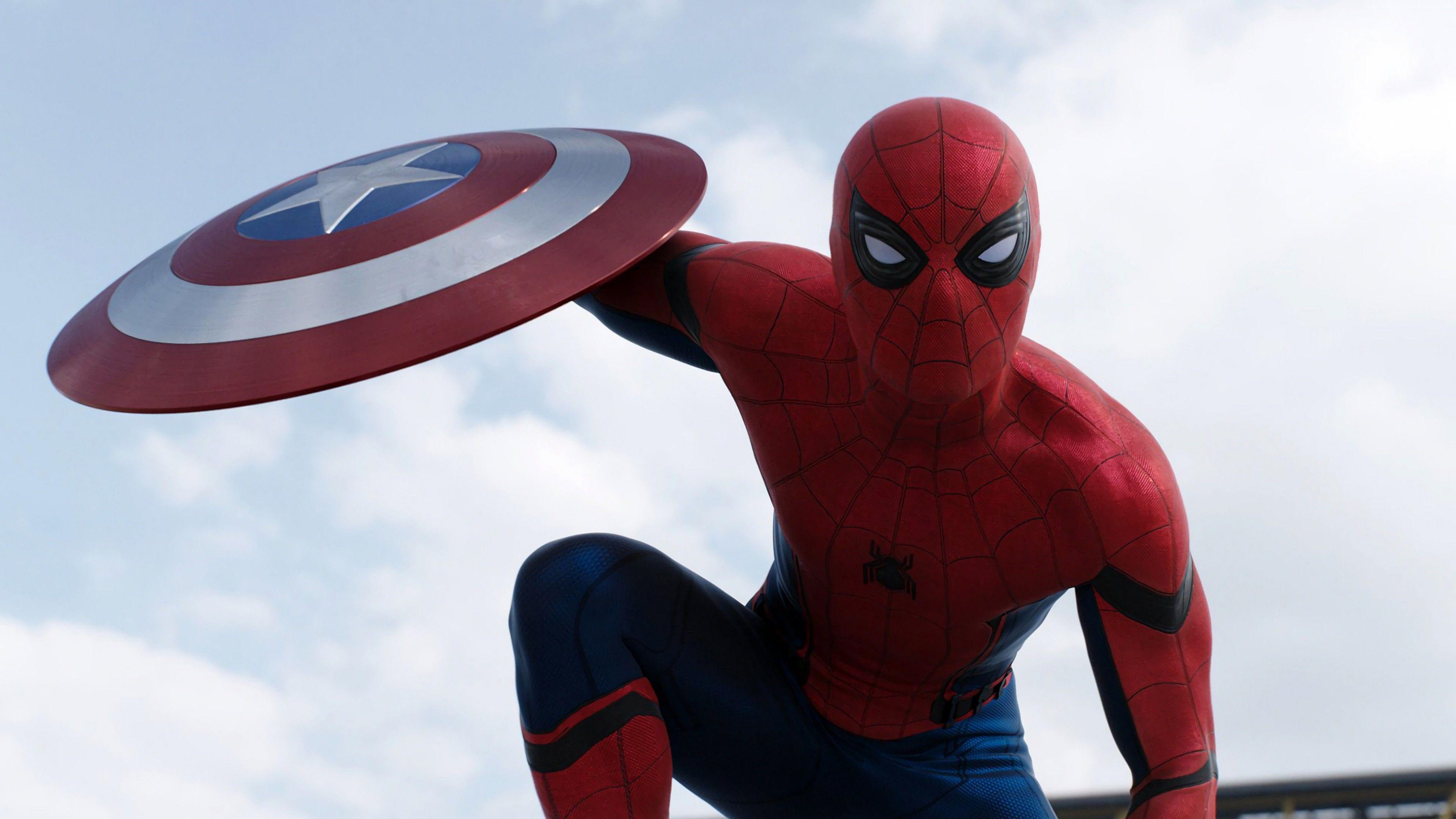 Spider Man Civil War Wallpapers   Top Spider Man Civil War 3840x2160