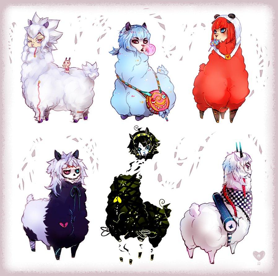 My Llama OCs by Expie OC 898x889
