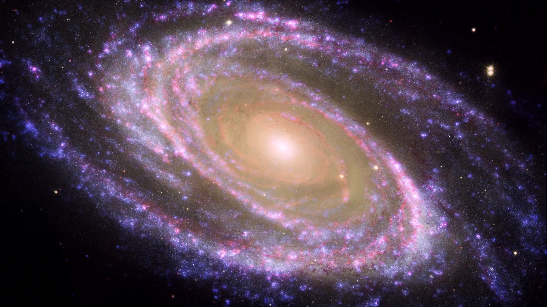 Purple Hubble da nebulosa da estrela Papis de Parede 1920x1080 1920x1080