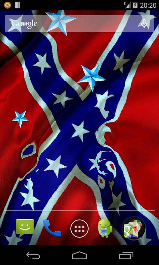 Rebel Flag Live Wallpaper   screenshot 540x900