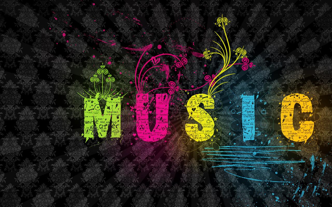 Music City Desktop Wallpapers 1280x800: Music Background Wallpaper