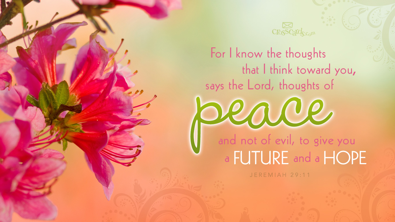 Thoughts of Peace Wallpaper   Christian Wallpapers and Backgrounds 1366x768
