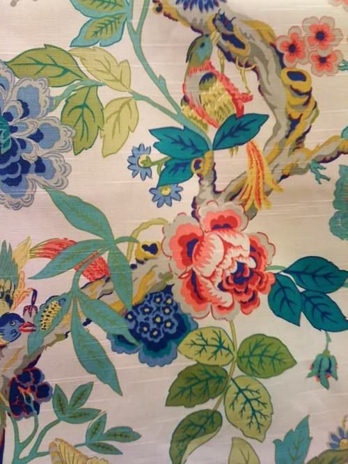 Notebook Chinoiserie Fabric For Sale   SOLD OUT Textiles Wallpapers 500x667