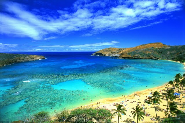Paradise beach wallpaper in NatureScenery desktop wallpapers 640x426