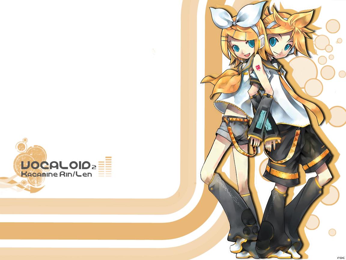 Vocaloid Wallpaper Rin Kagamine Len Wa...