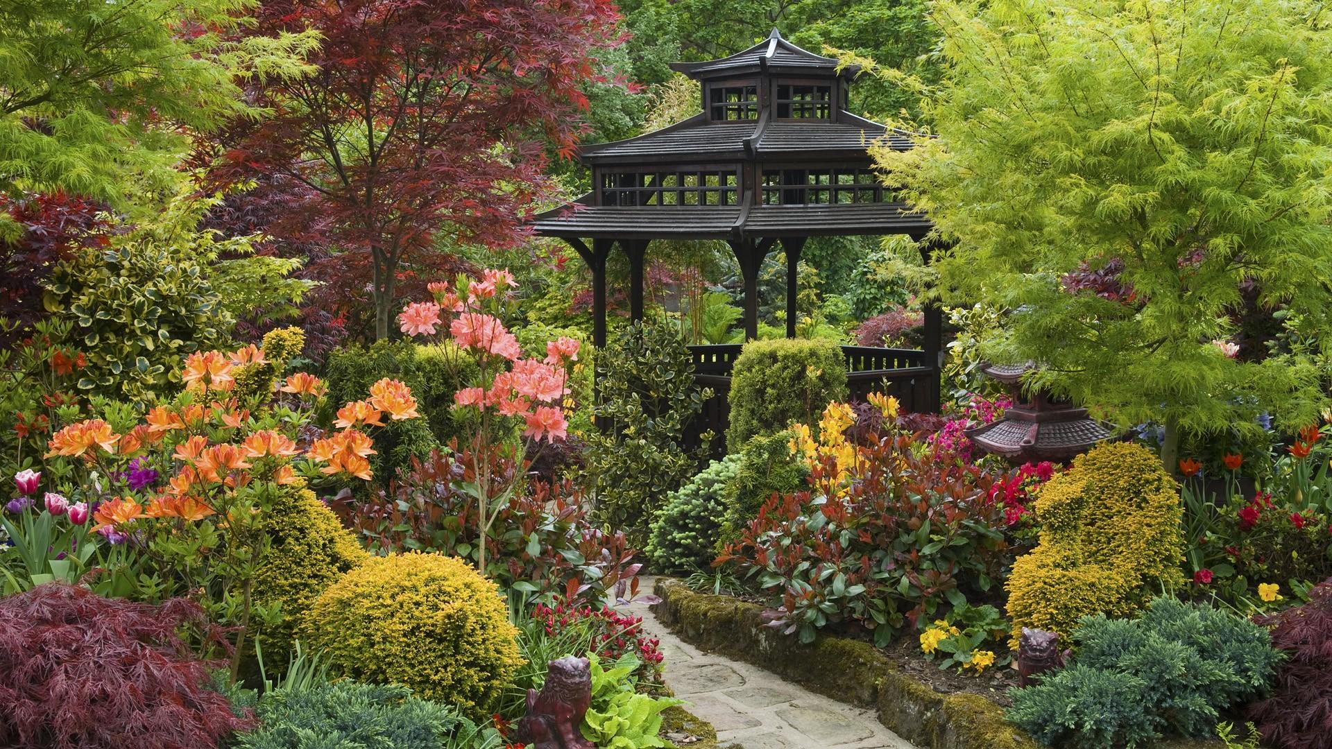 England Garden Wallpaper 1920x1080 England Garden Zen 1920x1080