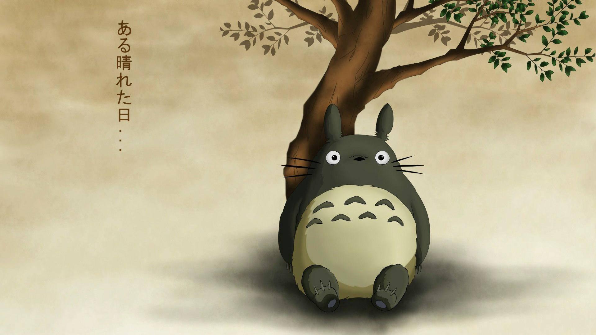 My Neighbor Totoro   Studio Ghibli Wallpaper 1920x1080