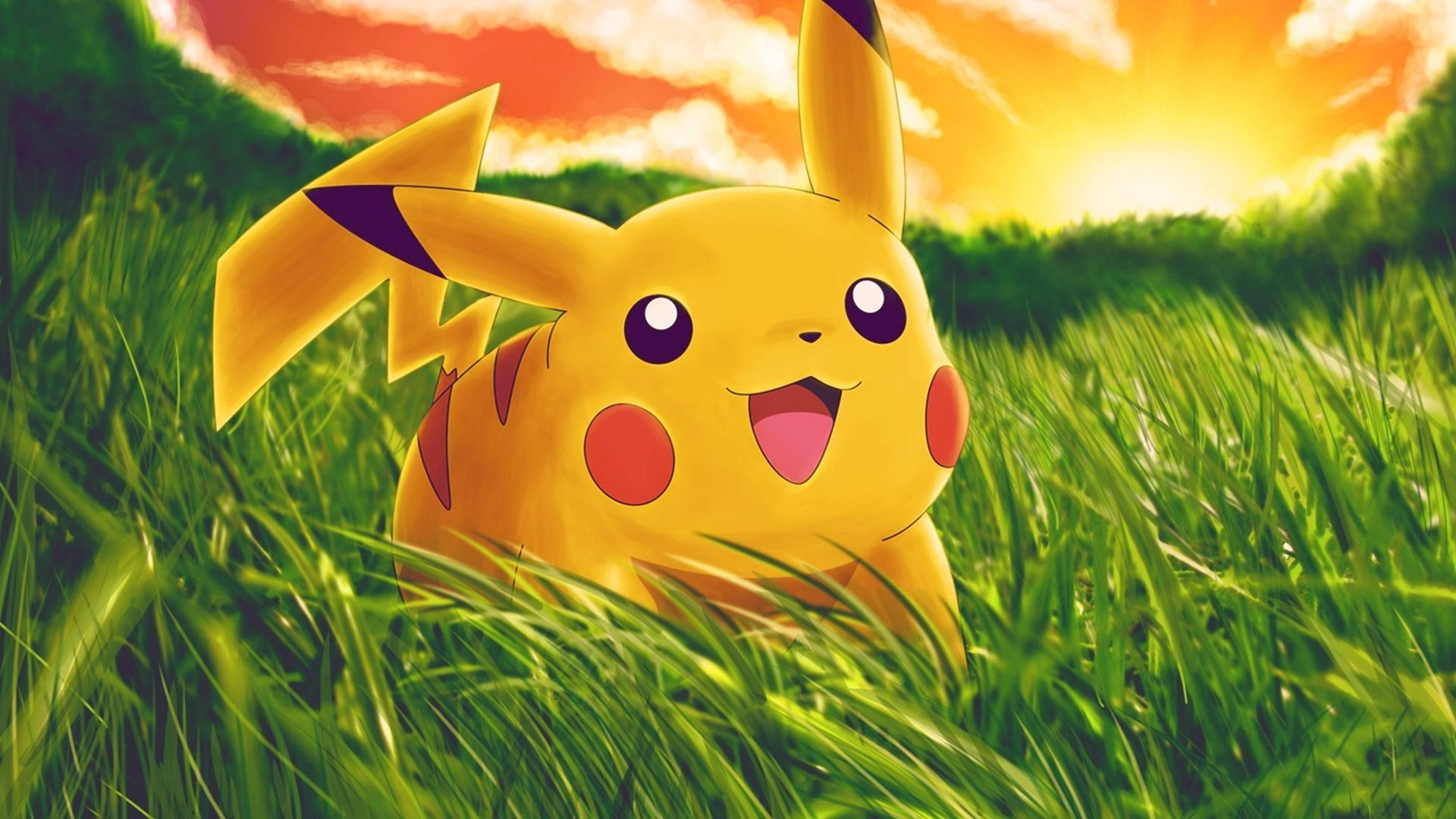 Pikachu Background Wallpapers WIN10 THEMES 1920x1080