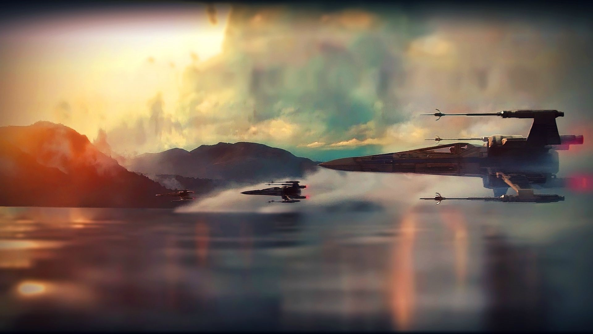 star wars the awakening of force the first installment of the third 1920x1080