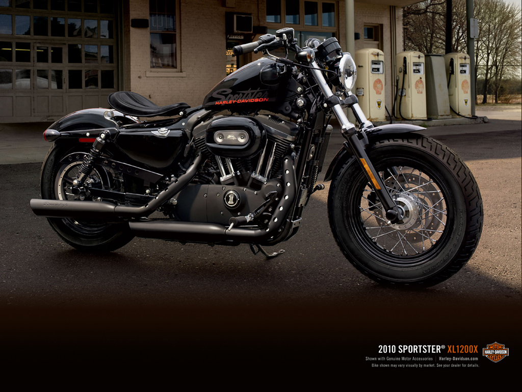 New Harley Davidson Forty Eight48Motor Cycle Wallpapers 1024x768