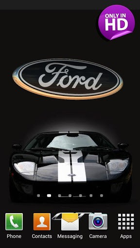 Cool Ford Logos Wallpapers 3d ford logo live wallpaper 288x512