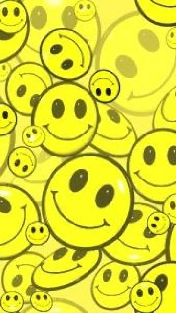 Tile Smiley Faces Mobile Phone Wallpapers 360x640 Hd Wallpaper For 360x640