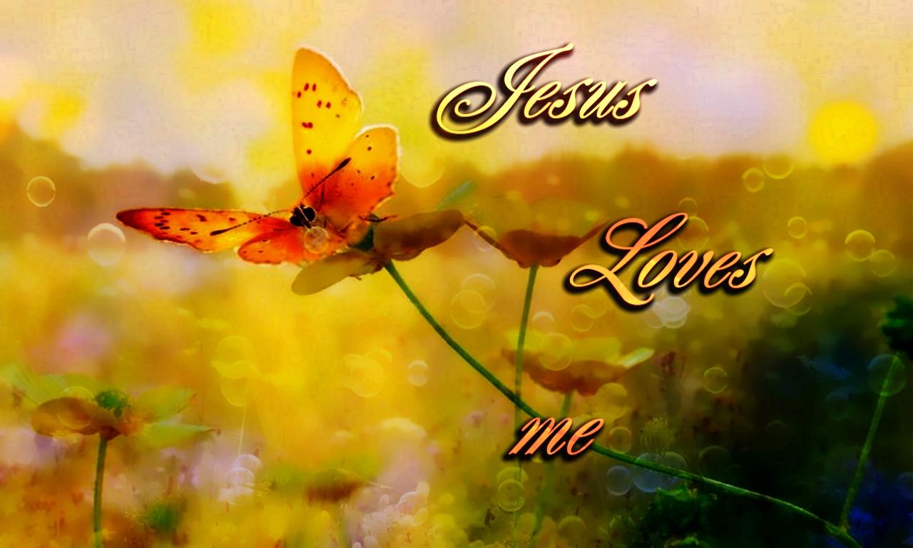 Jesus Loves Me Wallpaper Wallpapersafari