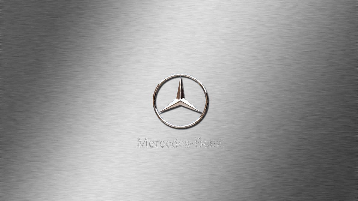 Mercedes-Benz Logo Wallpaper by rokpremuz on DeviantArt