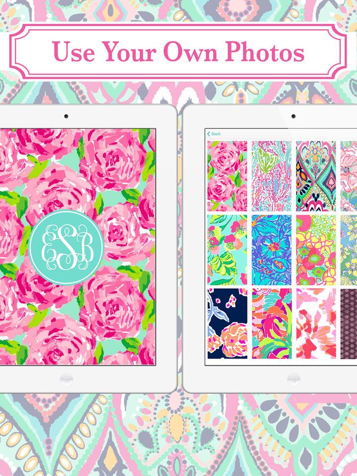 Monogram Wallpaper Backgrounds Maker HD
