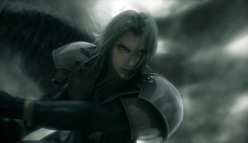 Sephiroth winged and flying The Lifestream 1023x592