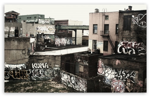 Graffiti Ghetto HD wallpaper for Standard 43 54 Fullscreen UXGA XGA 510x330