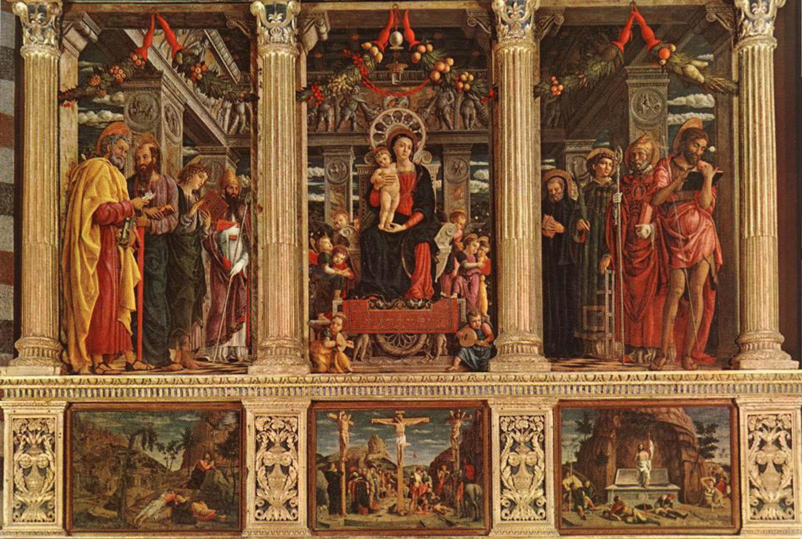 Andrea mantegn Renaissance 1606x1080