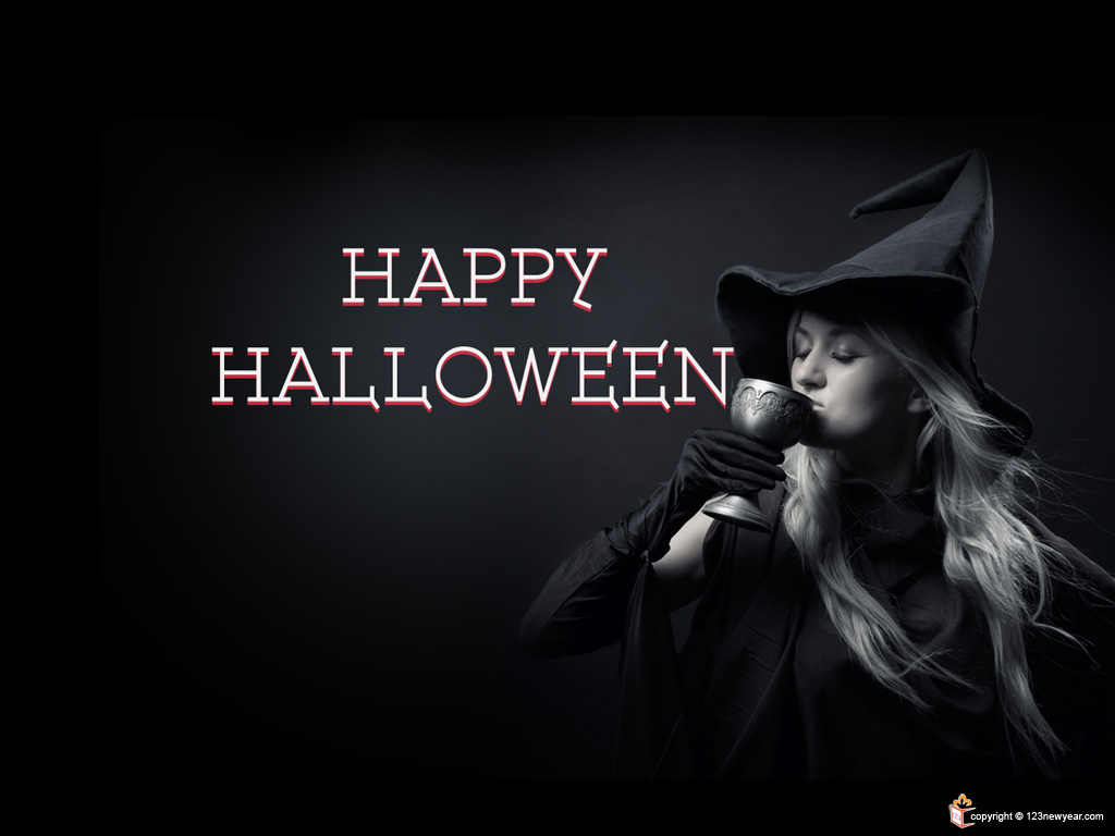 Happy Halloween Wallpaper 1024x768