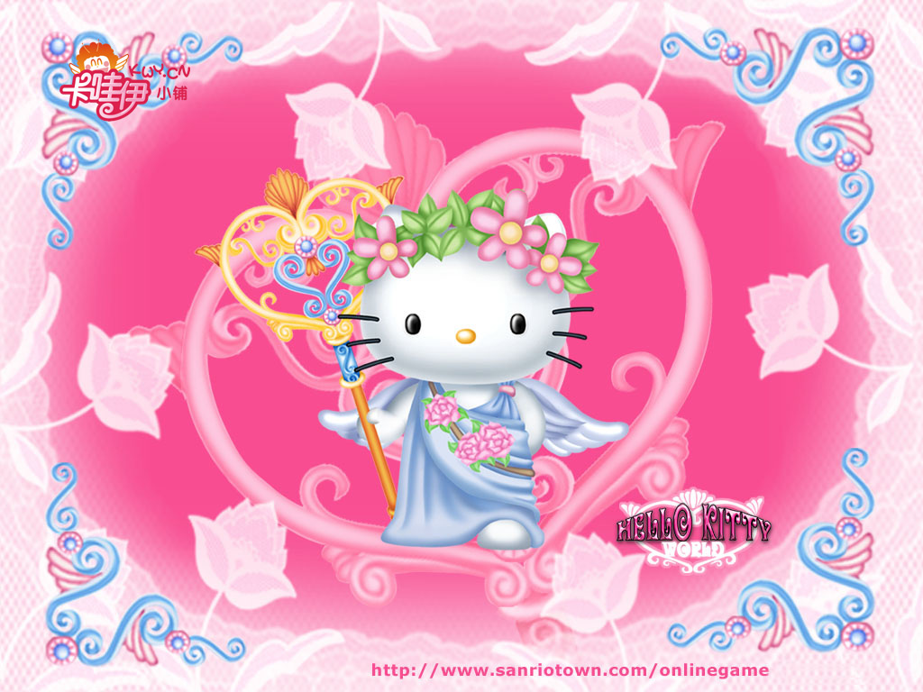 Cute Hello Kitty Wallpaper 950 Hd Wallpapers in Cartoons   Imagesci 1024x768