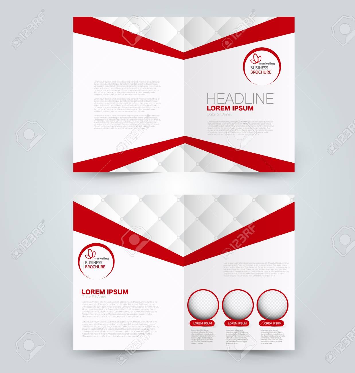 Fold Brochure Template Flyer Background Design Magazine Cover 1238x1300