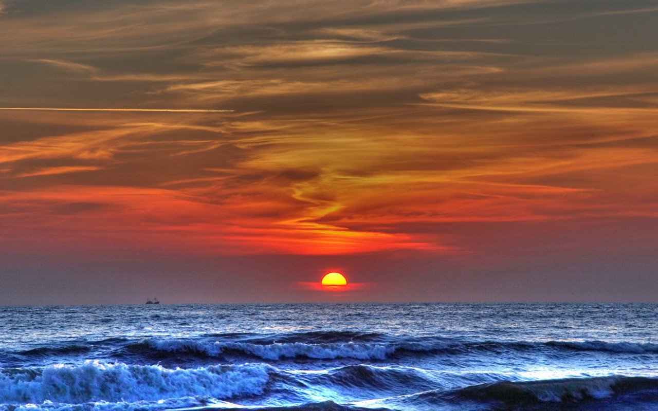 photo island sunrise screensavers - photo #28