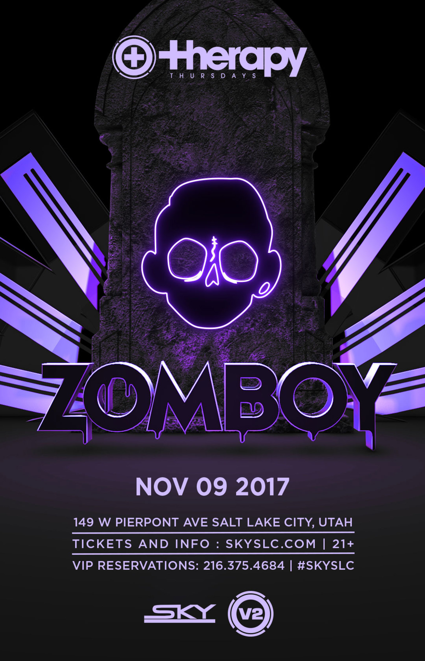 Therapy Thursdays ZOMBOY   Tickets   Sky SLC Salt Lake City UT 1360x2116