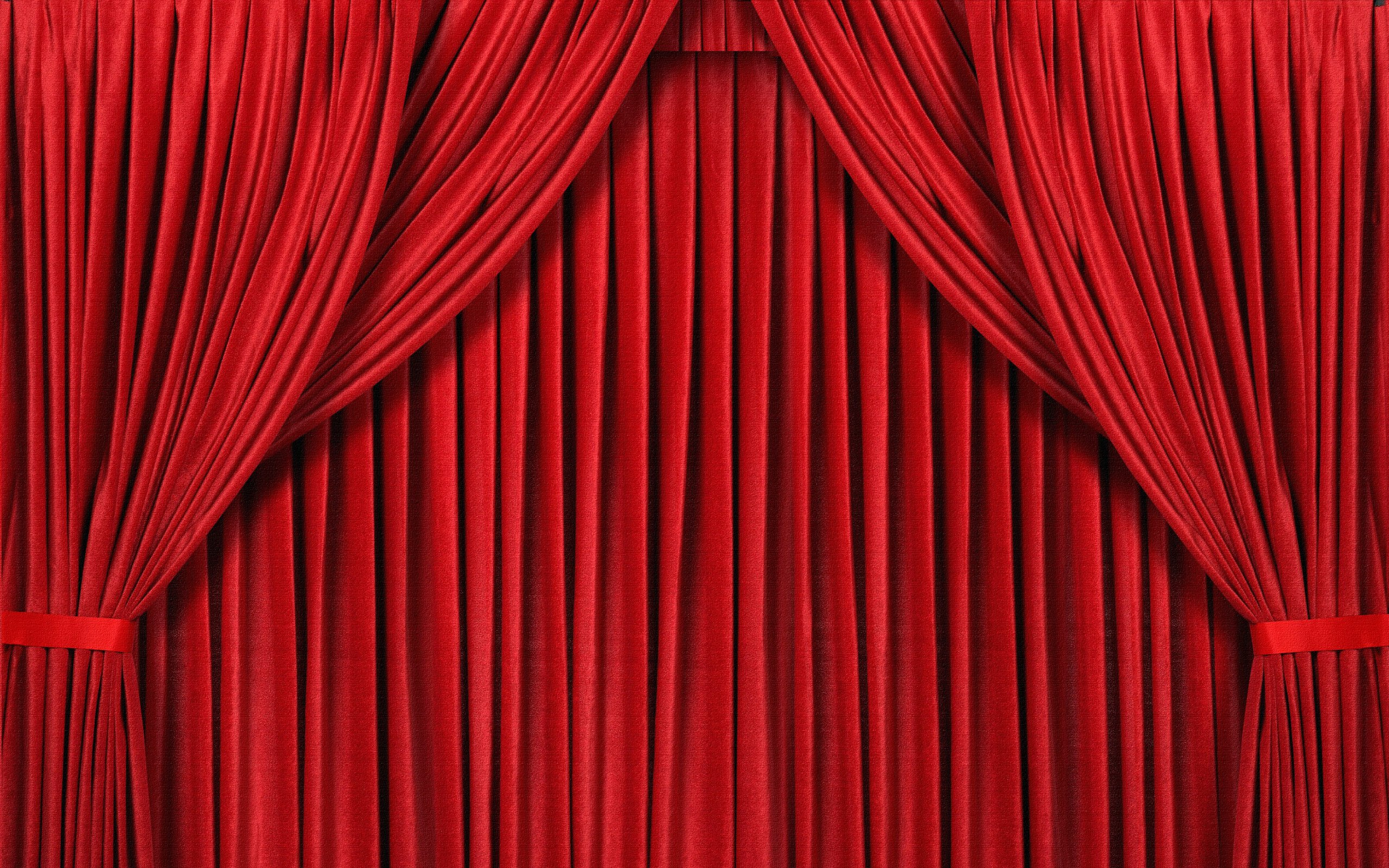 cartoon red curtains wallpaper - photo #19