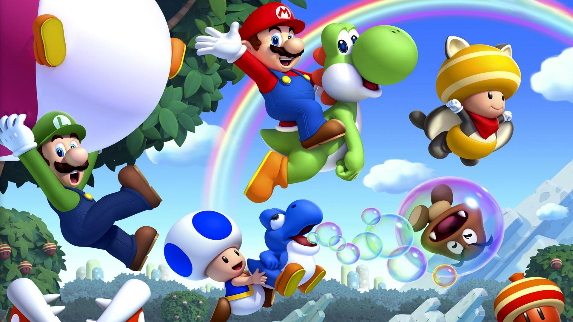 Mario Desktop Backgrounds: Super Mario Wallpaper 1920x1080
