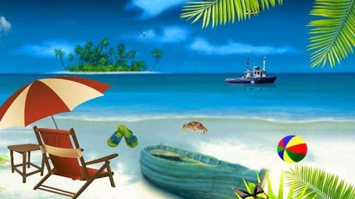 Cool Beach HD Live Wallpaper Screenshot 4 512x288