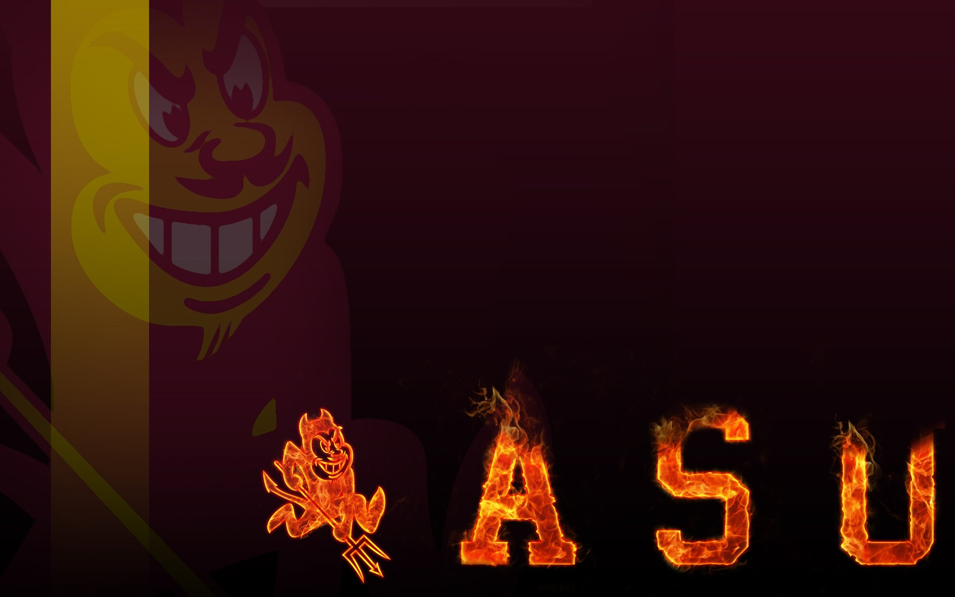 ARIZONA STATE SUN DEVILS college football 1sundevils wallpaper 1920x1200