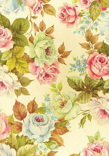 Free download Vintage flower wallpaper