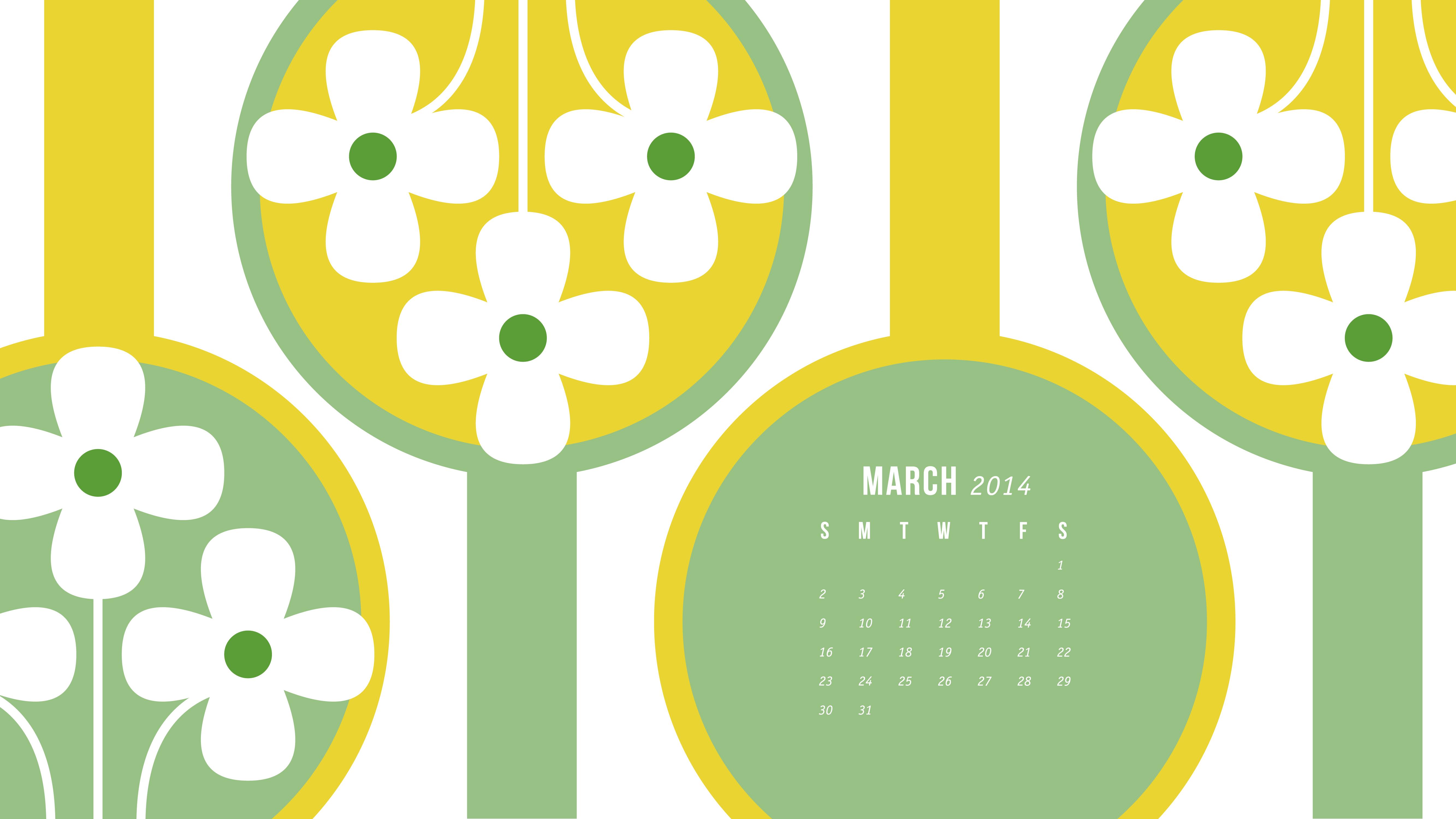 Sarah Hearts   March 2014 Calendar Wallpapers 5333x3000