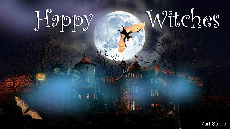 Pics Photos   Wallpaper Happy Halloween Screensaver 1440x810