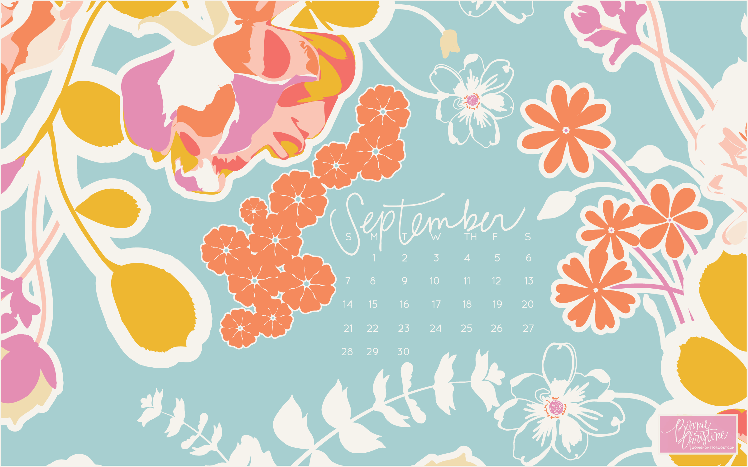 to download septembers backgrounds click on the coordinating image 2400x1500