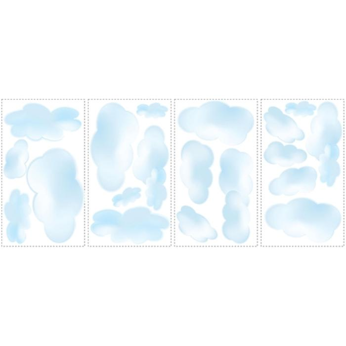 Roommates Clouds Peel and Stick Wall Decals RMK1250SCS 700x700