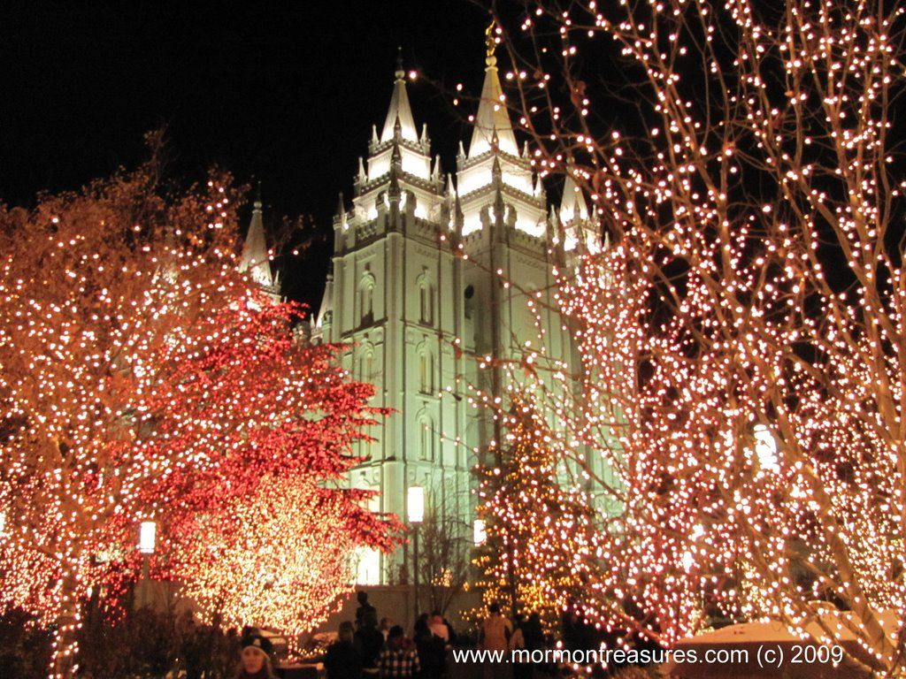 Pin by Mike Sessions on LDS ART Lds art Temple square christmas 1024x768