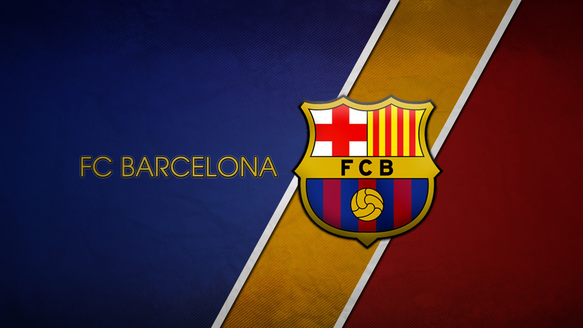 Fc Barcelona Football Logo Full HD Wallpaper 5319 1920x1080