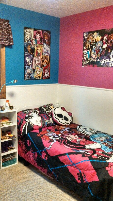 42+] Monster High Wallpaper for Bedroom on WallpaperSafari